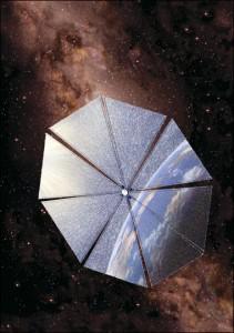 Rick Sternbach: Solar Sail