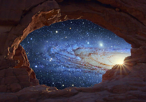 universe through the canyon