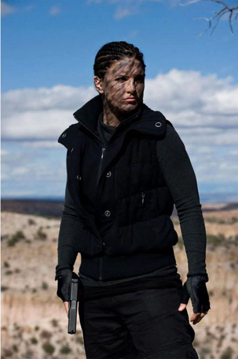 Mallory Kane (Gina Carano) in Haywire