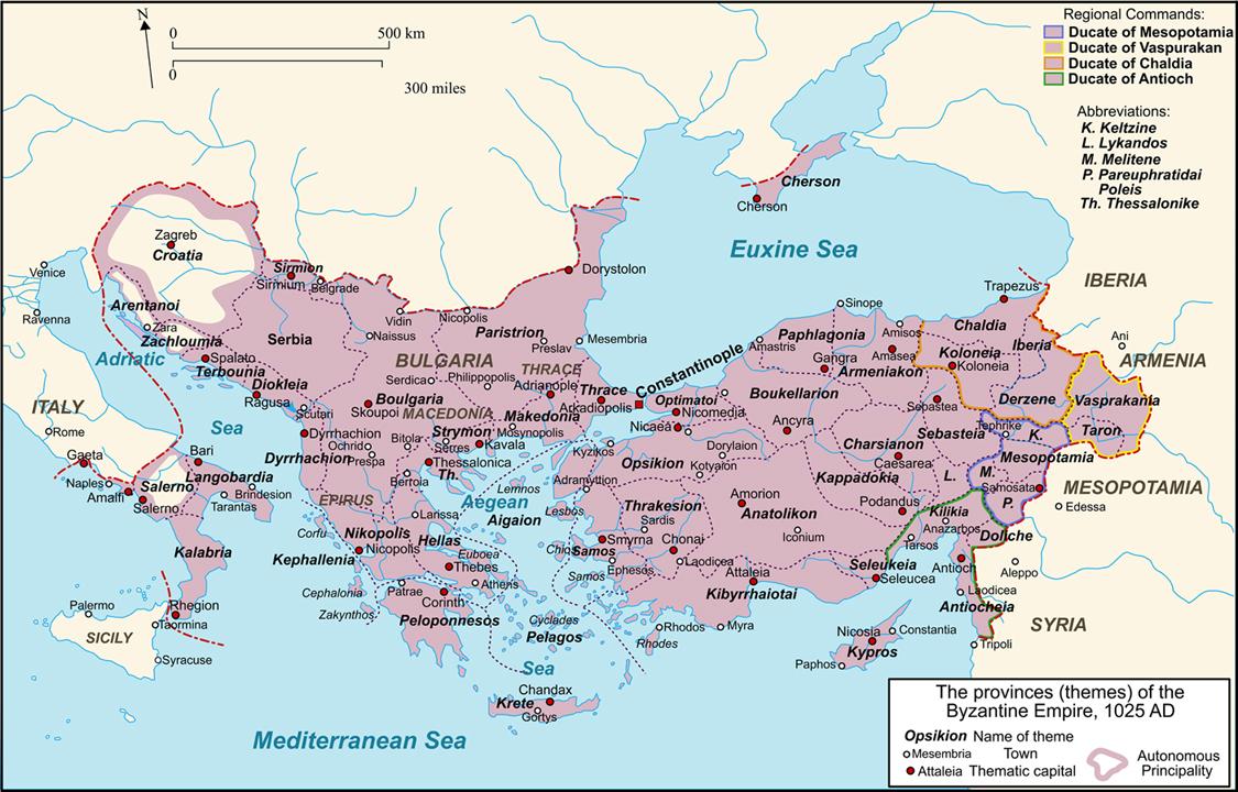 Byzantium 1025