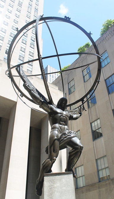 Atlas Rockefeller Ctr Lee Lawrie